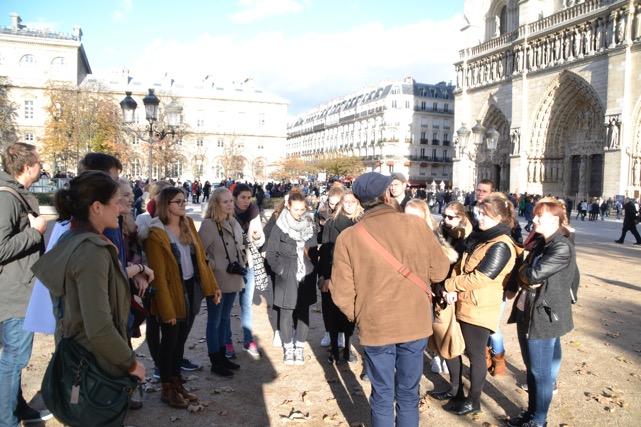 Führung durch Paris