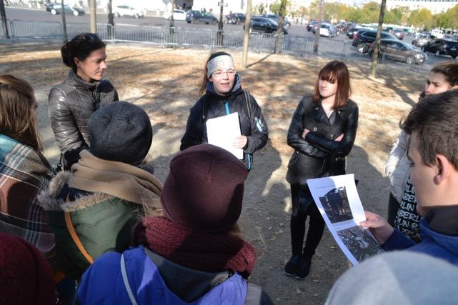 Gruppen-Aktion in Frankreich