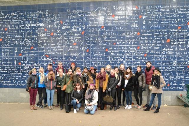 Französisch-Schüler der FOS in Paris