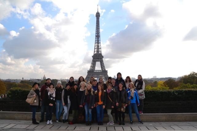 Parisfahrt der Französisch-Schüler